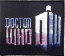 British TV Series DOCTOR WHO Matt Smith Embroidered Logo PATCH