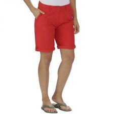 Pantalones cortos de mujer de color principal rojo