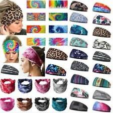 Women Wide Headband Stretch Hairband Elastic Sports Yoga Hair Band Boho Turban ❤
