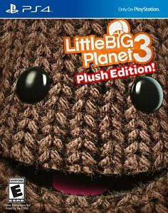 LittleBigPlanet 3: Day One Edition & Plush Edition [PlayStation 4 PS4] NEW