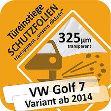 VW Golf 7 Variant Lackschutzfolie Einstiege Schweller Tür Schutzfolie Autofolie