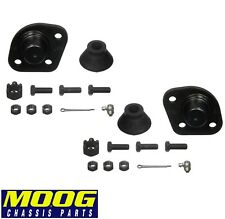 For Ford Elite Galaxie 500 Set of 2 Front Upper Bolt-in Type Ball Joints Moog