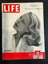 Life Magazine  July 12 1948  Small Town Girl