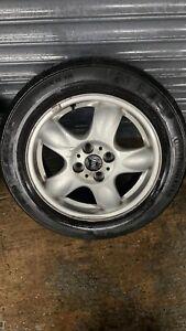 "Single BMW Mini Cooper R100 Light 5 Spoke Spooler Alloy Wheels 15"" R56 R52 R50"
