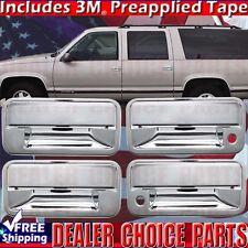 1995-1999 CHEVY TAHOE 92-99 GMC SUBURBAN Chrome Door Handle COVERS Overlays Trim