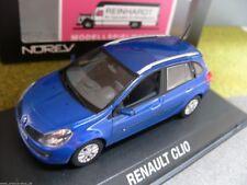 1/43 norev Renault Clio Estate 2007 metalizado azul 517580