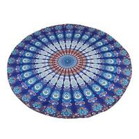 Round Beach Yoga Mat Tapestry Mandala Indian Wall Hanging Throw Towel  Decor