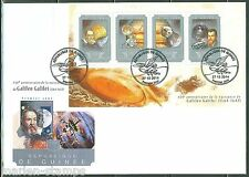 GUINEA 2014 450th BIRTH ANNIVERSARY OF GALILEO GALILEI  SHEET  FIRST DAY COVER