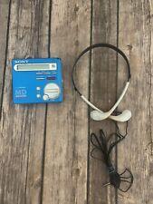 Sony Mz-R70 Walkman Minidisc blue