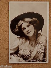 R&L Postcard: Portrait of Actress Miss Phyllis Monkman, Oriental Fashion