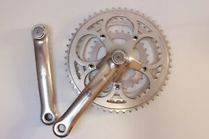 Pedalier Campagnolo triple 52-42-30 Centaur Euclid vintage CRANKSET