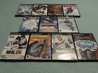 Winter Sports PS2 11 Game Bundle/Lot, Tested & Complete, Very Good Fast Shipping