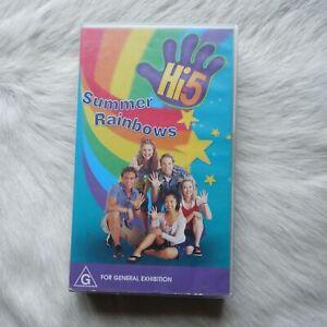 HI-5 VHS SUMMER RAINBOWS 1995 Hi 5 Video Tape KIDS TV Music Video Musical VHS