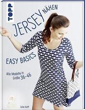 Jersey nähen - Easy Basics von Julia Korff (2016, Gebundene Ausgabe)