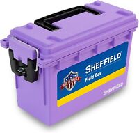 Field Box,Pistol,Rifle,Shotgun Ammo Storage Box Tamper-Proof Locking Ammo Can