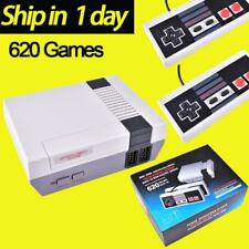 620 Retro Games NES Vintage Entertainment Console +2 Controllers(unbranded)