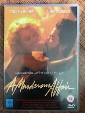 Virginia Madsen A MURDEROUS AFFAIR ~ 1992 True Life Erotic Crime Drama | UK DVD