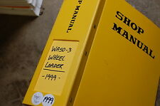 KOMATSU WA50-3 Front End Wheel Loader Service Repair Manual book shop overhaul