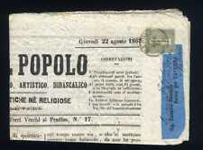 ITALIA Regno - 1863 - De La Rue - 1 cent. isolato