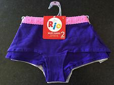 Ladies Sz 16 Soft Stretch Pack of 2 Rio BRAND Shortie Boy Leg Style Briefs
