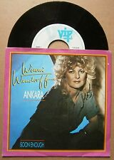 "7"" Winni Wendorff Ankara Soon Enough Holland Vip Records 1984 Disco"