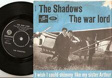 THE SHADOWS THE WAR LORD & LIKE MY SISTER ARTHUR DANISH 45+PS 1965 CLIFF RICHARD