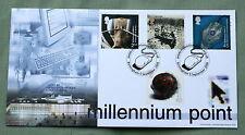 MIND & MATTER 2000 BRADBURY FDC WWW.MILLENNIUMPOINT.ORG.UK BIRMINGHAM HANDSTAMP.