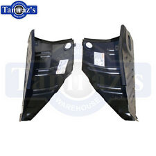 70-74 Cuda Barracuda Trunk Floor to Quarter Panel Extension Drop Off PAIR