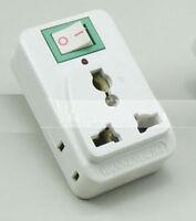 UK/US/EU Universal to AU Power Plug  Travel Adapter Australia China with Switch