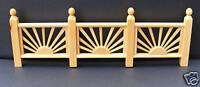 1:12 Scale Single Wooden Sun Trellis Fence Tumdee Dolls House Garden Accessory