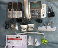 PANASONIC Corded/Cordless Phone System/Answering Machine KX-TGF353N Gold