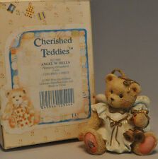 Cherished Teddies - Angel With Bells - 912980 - Ornament