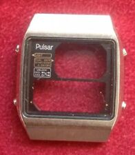 Vintage Pulsar Analog Digital Watch Case Non Sprung Buttons With Circlips Spares