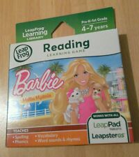 Leappad 2 3 Ultra Platinum Xdi Explorer GS Barbie Malibu Mysteries Reading game