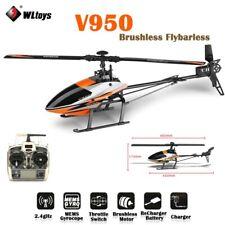 WLtoys 2.4GHz RC Hubschrauber 6 Kanal 3D System Ferngesteuerter Helicopter