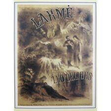 DELIBES Léo Lakmé Opéra Chant Piano 2005 partition sheet music score