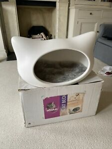 Rare Whiskas Cat Bed White Plastic Limited Edition