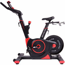Echelon Connect EX3 Indoor Exercise Bike UK ADAPTOR RED - BLACK $