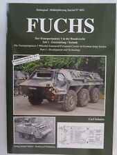 Tankograd No. 5051 - Fuchs Wheeled Armoured Personnel Carrier in German Army