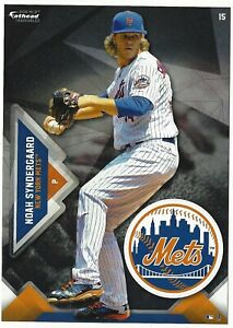 NOAH SYNDERGAARD FATHEAD TRADEABLES NEW YORK METS REMOVABLE WALL DECAL 2016 #15