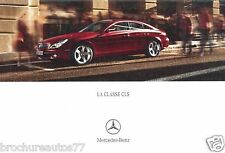 MERCEDES CLASSE CLS Catalogue commercial