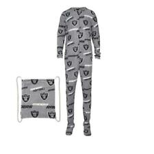 Los Angeles Raiders NFL Grandstand Union Suit Pajamas Concepts Sport SZ M NEW