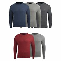 Mens Jumper Duck and Cover Knitwear Designers Crew Neck Top