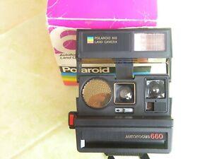 Polaroid 600 Land Camera Autofokus 660