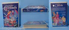 Cinderella Walt Disney Black Diamond The Classics 1988 VHS 410