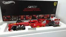 ELITE 1/18 Ferrari F1 F138 #3 Winner Gp China 2013 F. Alonso Art. BCT82