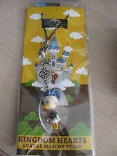 Disney Kingdom Hearts Avatar Mascot Strap Donald Duck Brand New
