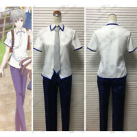 New Anime Fruits Basket Soma Yuki Kyo Cosplay Costume Boy Summer School Uniform