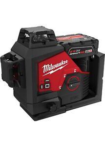 Milwaukee 3632-21 M12™ Green 360° 3-Plane Laser