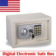 Steel Digital Safe Box Electronic Lock Home Office Fireproof Security Cash Gun